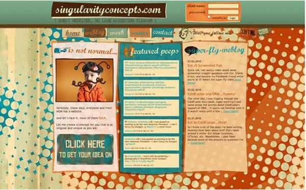 具有视觉创意的十大网站建设赏析